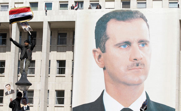 0312 - pictures of Assad in Syria