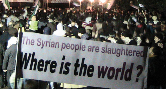 0312 - top - protest in Syriaa