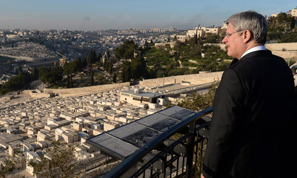 0314 - Harper overlooks Jerusalem