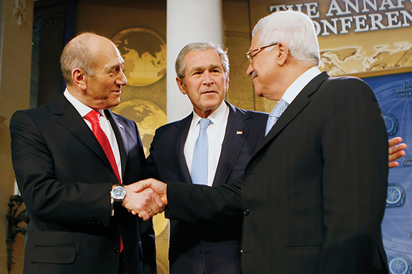 0316 - Olmert and Abbas