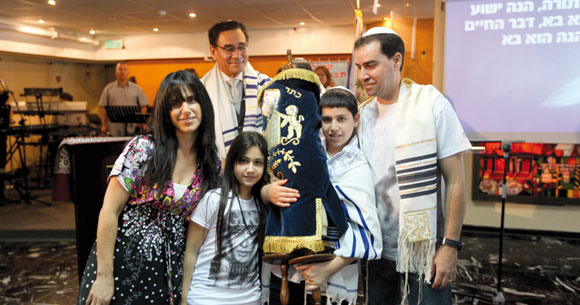0412 - Ronen and family
