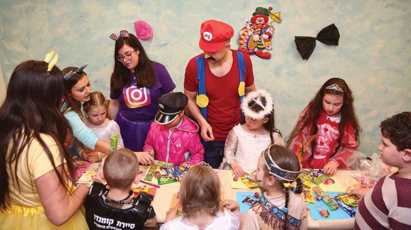 0417 - Purim party for kids