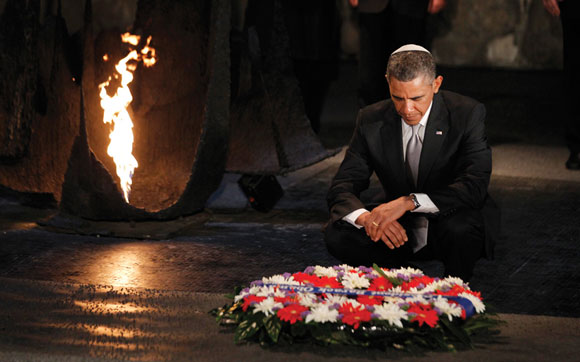 0513 - Top - President Obama at Yad VaShem