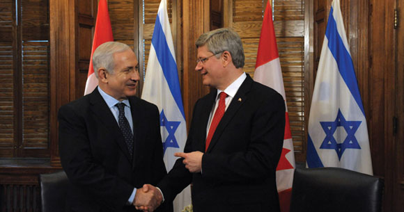 0612 - Netanyahu and Harper