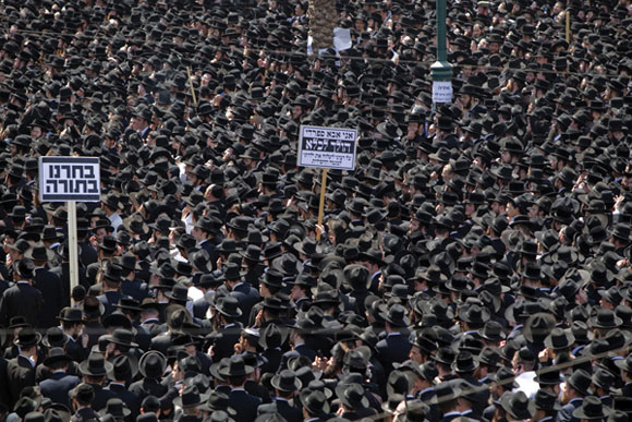0612 - Ultra-Orthodox protest