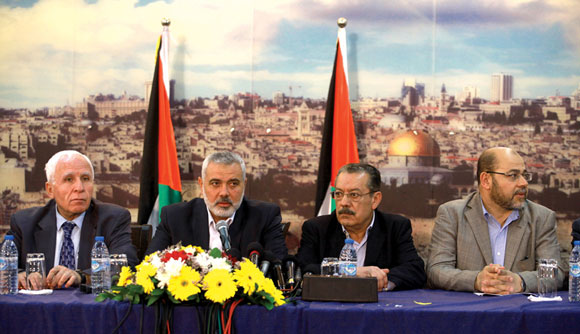 0714 - Hamas and Fatah announce unity