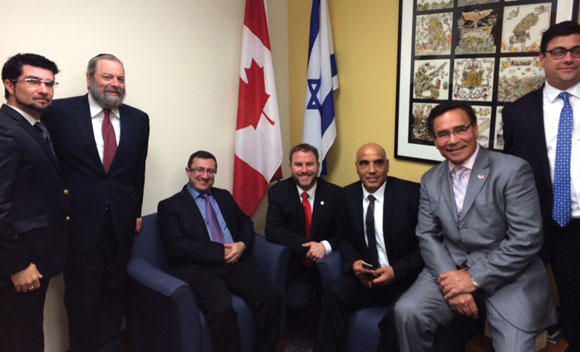 0714 - Israel Lobby and Canadian Jewish Officials
