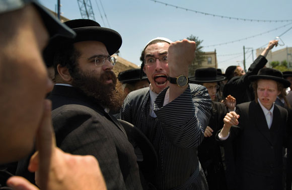 0911 - ultra-Orthodox protest