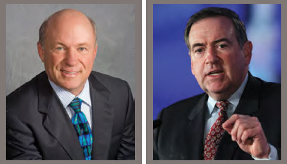 0912 - Dan Cathy and Mike Huckabee