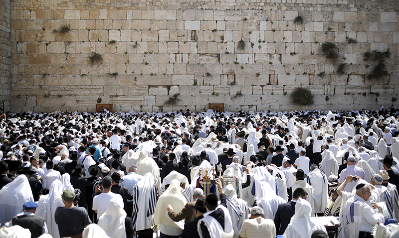0917 - Prayer - at - the - Western - Wall