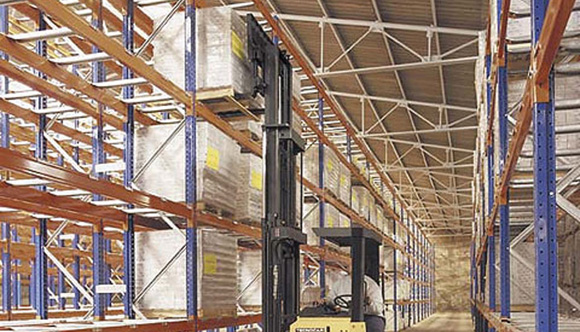 1012 - palletized shelving