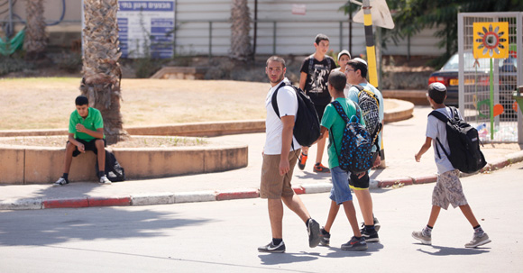 1012 - Sderot students