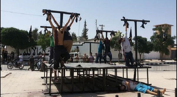 1014 - ISIS crucifixion