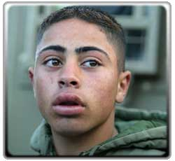 Hasam Abdu, 14, described as mentally challenged, apprehended before he could blow himself up in Israel