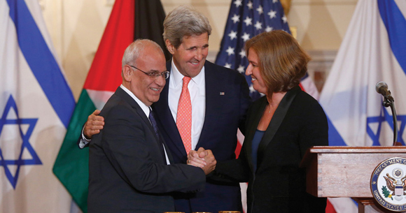 1113 - Kerry, Livni and Erekat