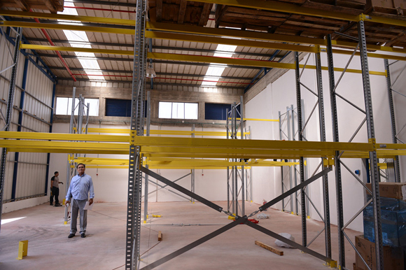 1113 - Maoz provided the shelving for the warehouse