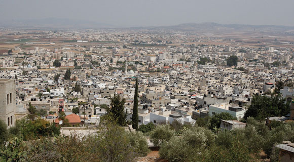 1114 - Jenin refugee camp in the West Bank