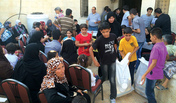 1114 - ministering to Iraqi refugees