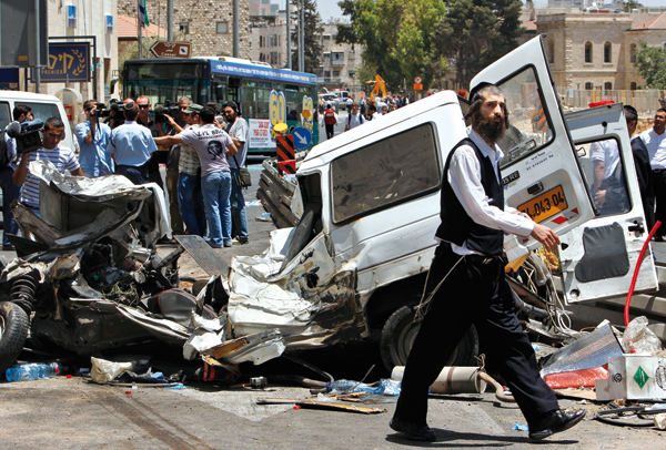 Terror in Jerusalem, July 2, 2008