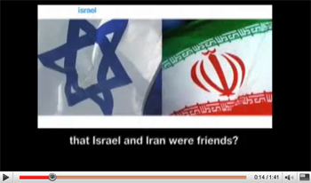 Israel and Iran friends video thumb