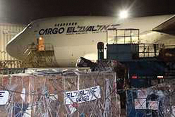 0310 - El Al Cargo Plain for Haiti