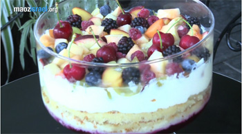 Shavuot cheesecake video thumb
