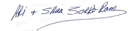 Ari and Shira signature