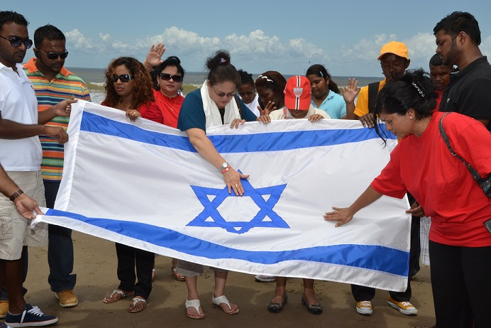 Trinidad praying for Israel