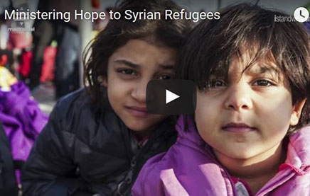 Syrian refugees video slide